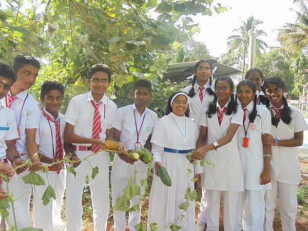 sacred heart school kerala